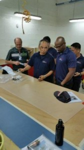 Airport Brush Plating Training